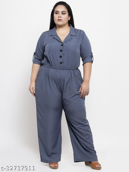 Flambeur Casual Jumpsuit For Women