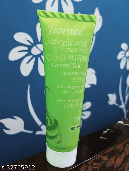 Lifestyle Beauty Jiornee Salicylic acid Ice Cream Green Tea Mask
