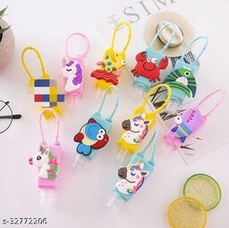 fancy unicorn hand sanitizer bottles with sanitizer for kids return gifts for girls and boys - Pack of 6