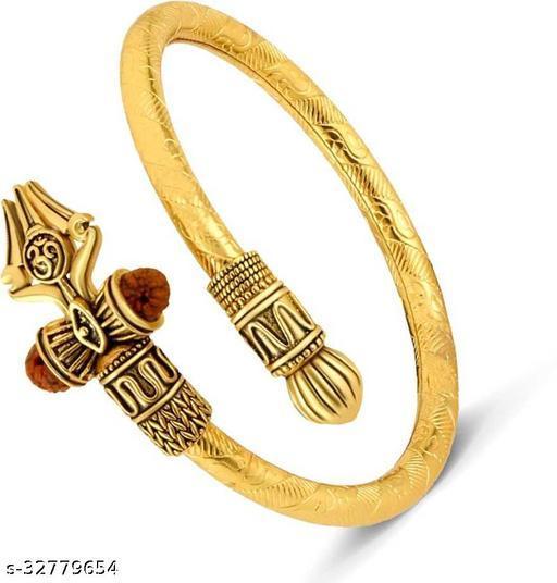 Stylish Brass Plated Bracelet