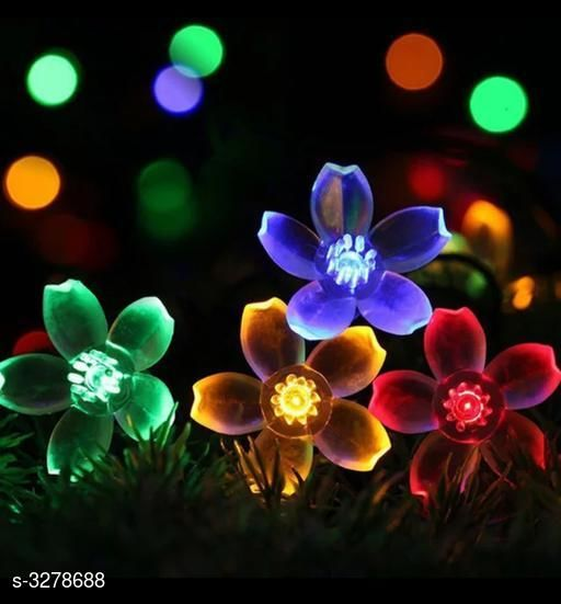 Shoppyana electronic crystal flower and crystal star decoration ladi