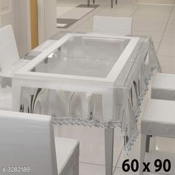 6 Seater Plain Silver