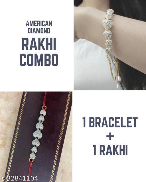 Elite Glittering Rakhi