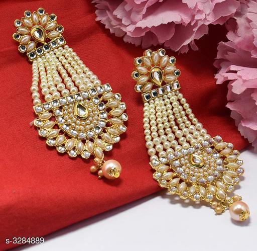 Gorgeous Brass & Copper Women's Earring