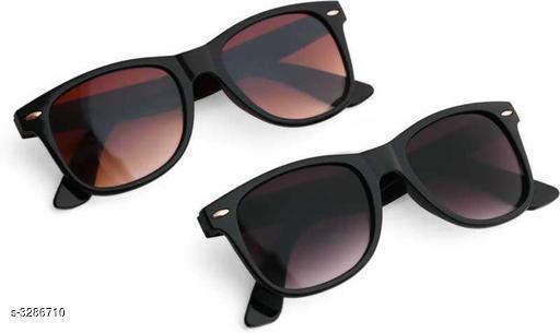 Designer Poly Carbonate Unisex Sunglasses Combo