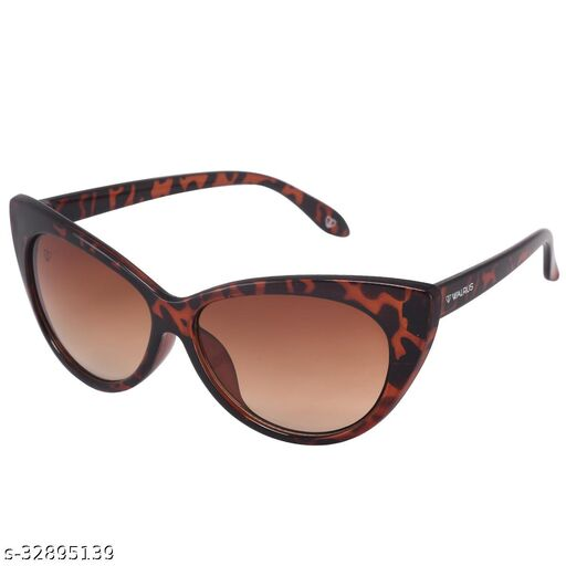 Walrus Nina Series Brown Cateye Women Sunglass