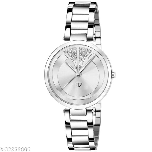 Walrus Alice VIII Series Brown Dial Metallic Women Wristwatch