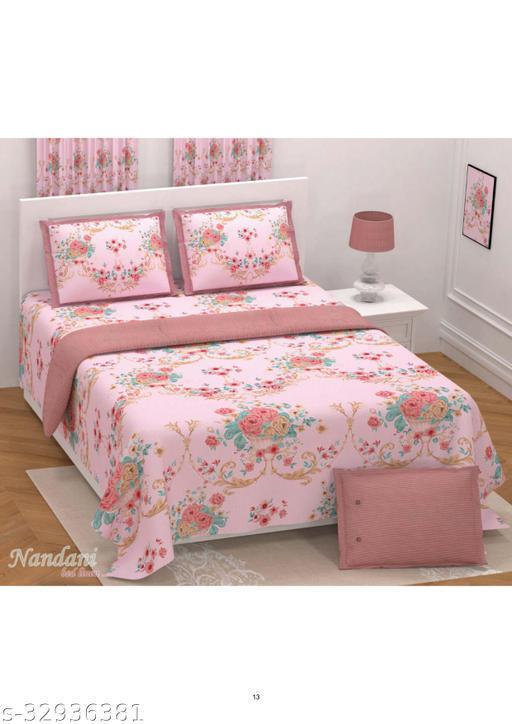 Beautiful  Cotton Linen Bedsheets