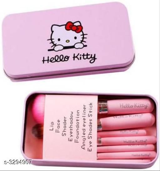 Pink Hello kitty Makeup Brush(Set of 7)