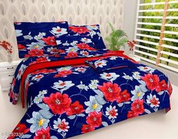 Comforable Printed Double Bedsheet