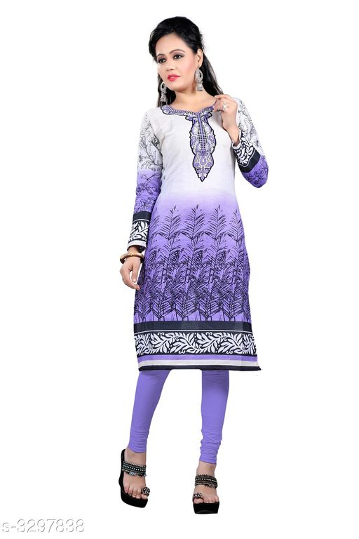 Kurti Fabric  Women's Attractive Cotton Printed Kurti Fabric Fabric: Cotton  Size: Length- 2 mtr, Width - 44 in Type: Un-Stitched Description: It Has 1 Piece Of Kurti Fabric Work: Printed Sizes Available: Un Stitched    Catalog Name: Selfie Women's Attractive Cotton Printed Kurti Fabric Vol 3 CatalogID_456004 C74-SC1326 Code: 452-3297838-