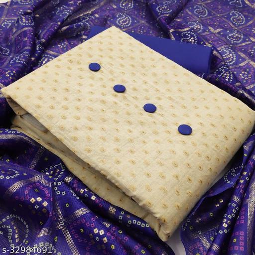 AD Impex Khadi Unstitched Salwar Suit Material