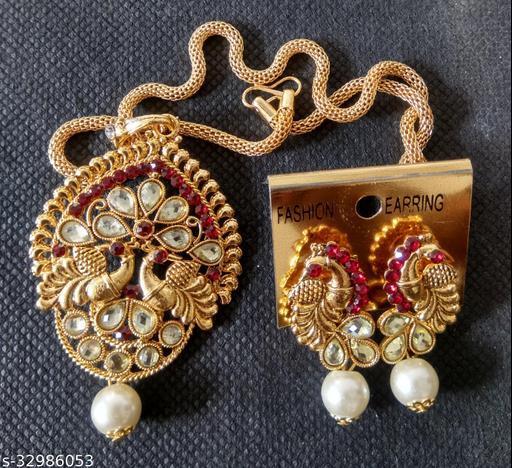 Beautiful Meta Jewellery Sets