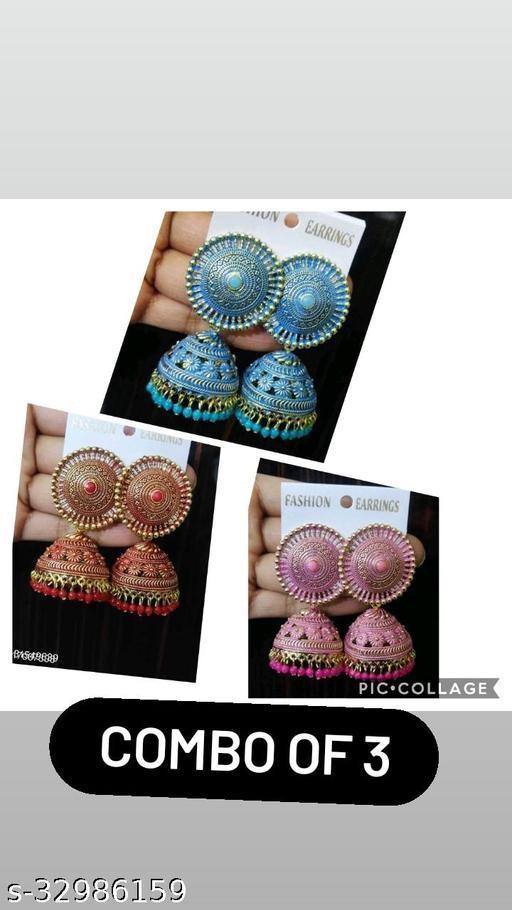 Fancy Alloy Earrings
