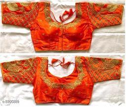 Elegant Trendy Mango Silk Women's Blouse