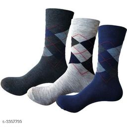 Stylish Trendy Cotton Men's Socks