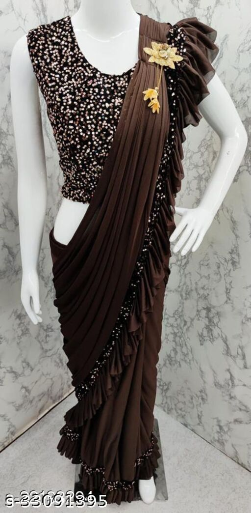Graceful  Silk Blend  Sarees