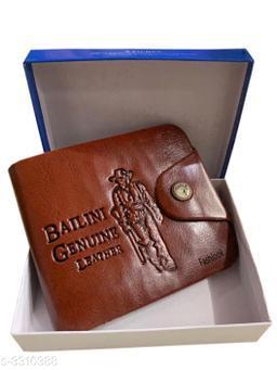 Trendy Men's PU Leather Wallet