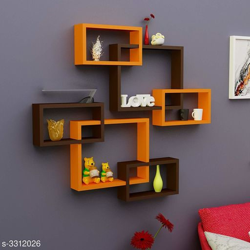 Attractive Antique MDF Wall Shelves