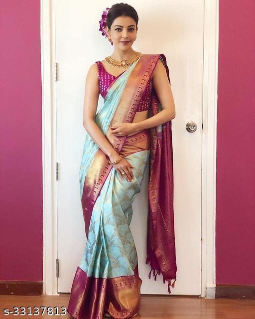 Trendy Silk Saree