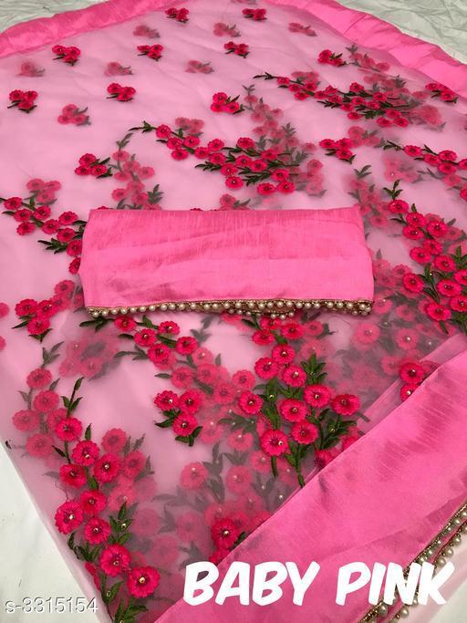 Fancy Heavy Net Women's Saree