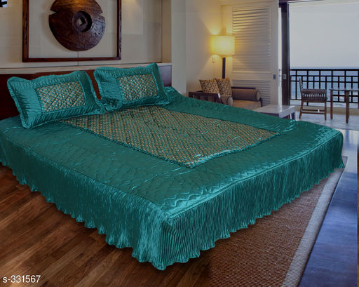Classic Satin Double Bedsheets