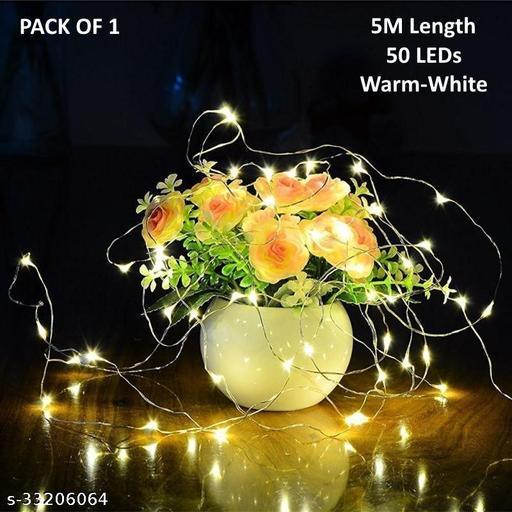5m 50LED Battery Powered Fairy Light (Pack of 1)