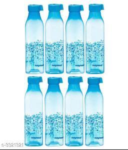 Nayasa BBS-8 Blue 1000 Fridge Bottle Set of 8