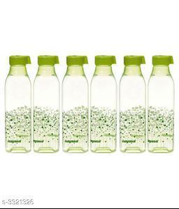 Nayasa BBS-18 Green 1000 Fridge Bottle Set of 6