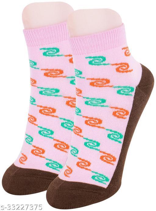 Fancy Women's Cotton Ankle Length Socks