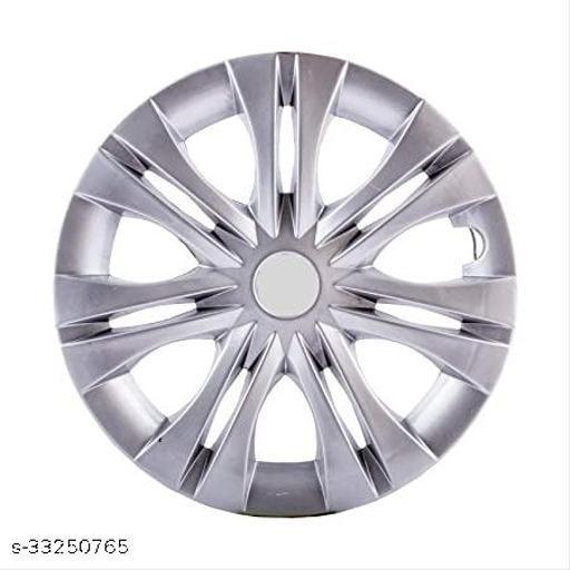 Wheel Cover Silver Colour Compatible INNOVA 15 INCH Set Of 4 Pc.