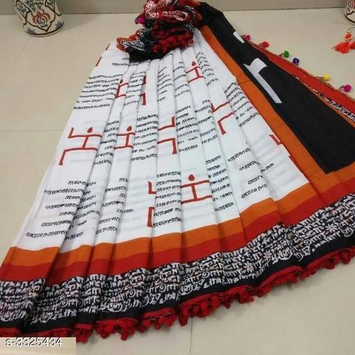 Special White Saree