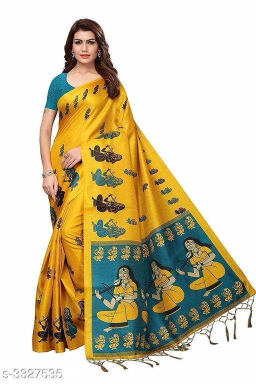 Special Yellow Saree