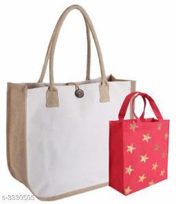 Unique Women's Multipack Beige Handbag