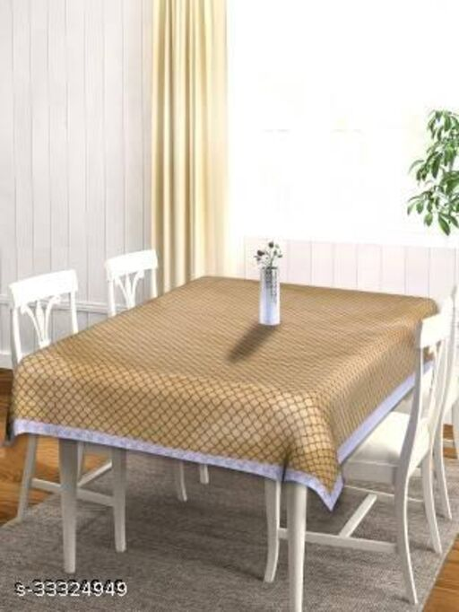 4 Seater Printed PVC Table Cover (Waterproof ,4 Seater)