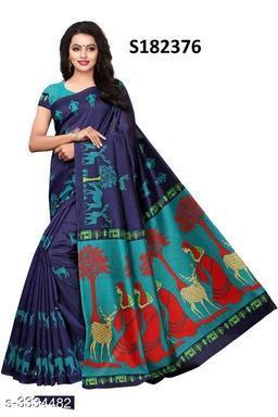 Special Blue Saree