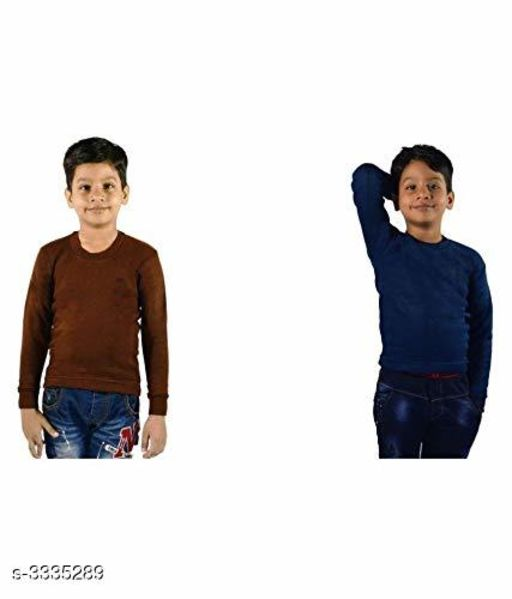 Boy's Cotton Thermal ( Pack Of 2 )