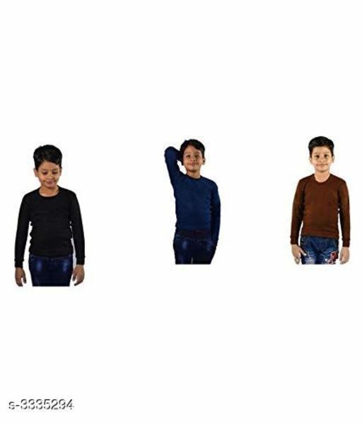 Boy's Cotton Thermal ( Pack Of 3 )