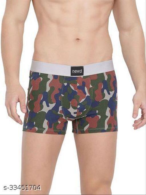 NEWD Trunk for Men Cotton Printed Underwear (Skin)