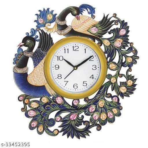 Blue Dragone 570 Wooden Wall Clock