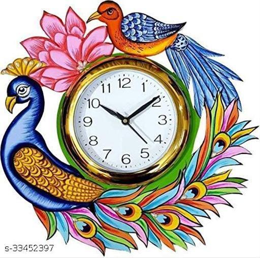 Peacock Decorative Wall Clock