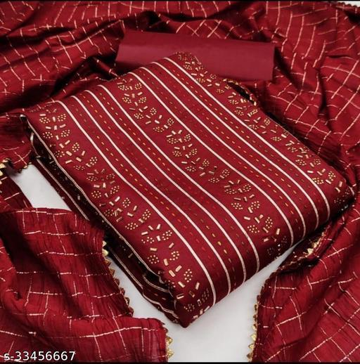 Alisha Fabulous Semi-Stitched Suits