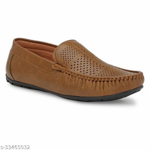 Men's Synthetic Leather Loafers