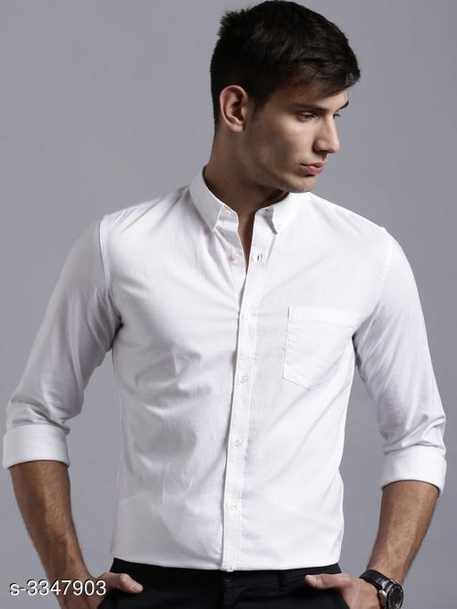 Trendy Cotton Men's Shirt