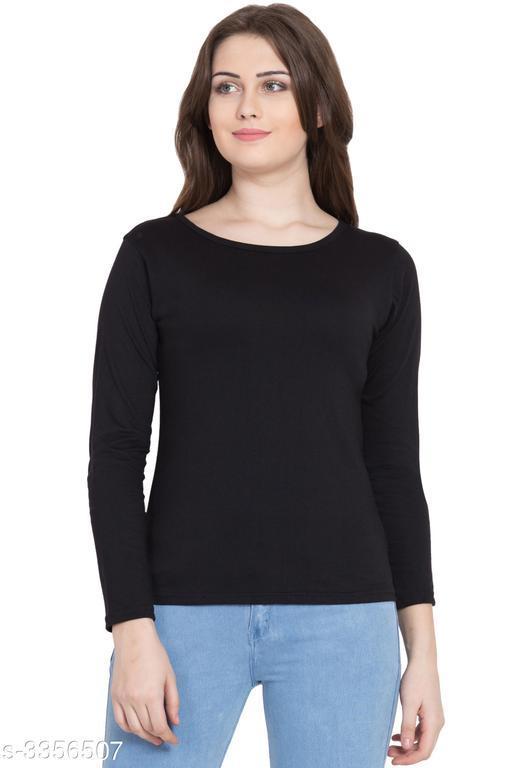 Stylish Cotton  Women's T- Shirt