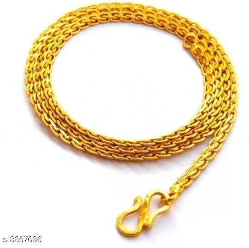 Stylish Brass Gold Plated Chain