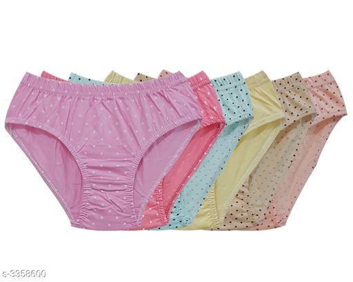 Comfy Women's Cotton Hipster Briefs (Pack Of 6)