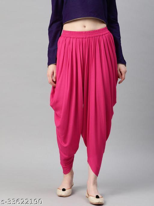 Women's Stylish Dhoti Salwar (Free Size)