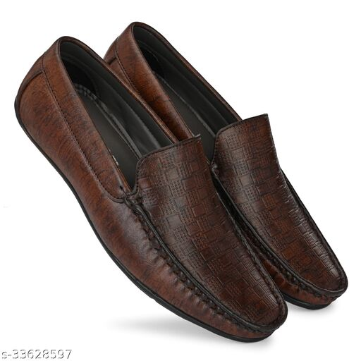 Trendy Synthetic Loafers
