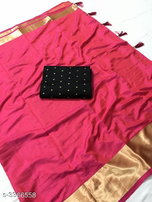 Classic Soft Sana Silk Women's Sarees